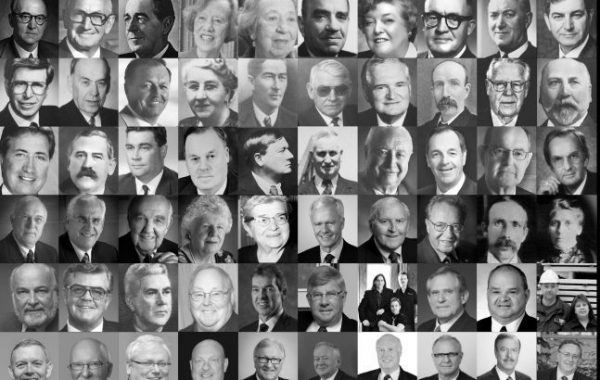 A List of Laureates – by year